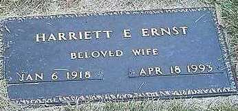 ERNST, HARRIETT E. - Monona County, Iowa | HARRIETT E. ERNST