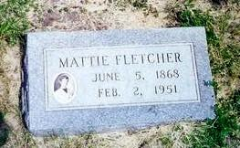 FLETCHER, MATTIE - Monona County, Iowa | MATTIE FLETCHER