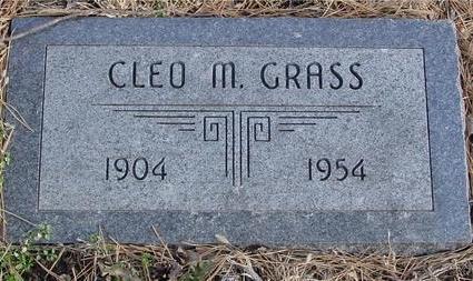 GRASS, CLEO M. - Monona County, Iowa | CLEO M. GRASS