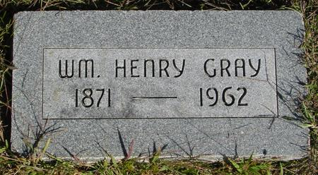GRAY, WILLIAM HENRY - Monona County, Iowa | WILLIAM HENRY GRAY