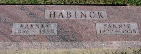 HABINCK, BARNEY - Monona County, Iowa | BARNEY HABINCK