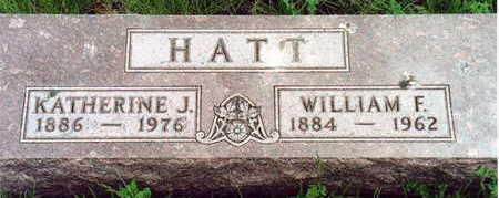 HATT, WILLIAM & KATHERINE - Monona County, Iowa | WILLIAM & KATHERINE HATT