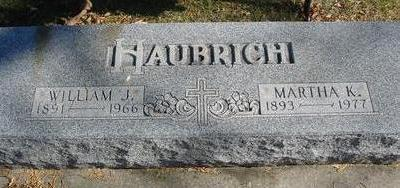 HAUBRICH, WILLIAM & MARTHA - Monona County, Iowa | WILLIAM & MARTHA HAUBRICH