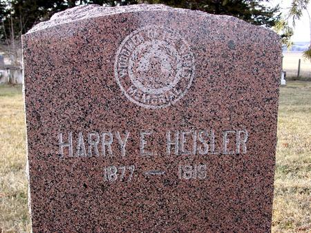 HEISLER, HARRY E. - Monona County, Iowa | HARRY E. HEISLER