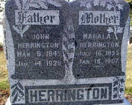HERRINGTON, JOHN & MAHALA - Monona County, Iowa | JOHN & MAHALA HERRINGTON