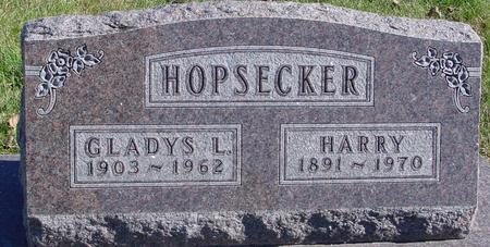 HOPSECKER, HARRY & GLADYS - Monona County, Iowa | HARRY & GLADYS HOPSECKER