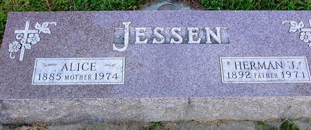 JESSEN, HERMAN & ALICE - Monona County, Iowa | HERMAN & ALICE JESSEN
