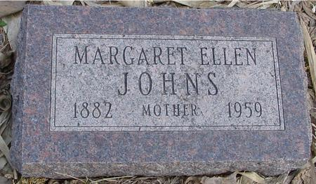 JOHNS, MARGARET ELLEN - Monona County, Iowa | MARGARET ELLEN JOHNS