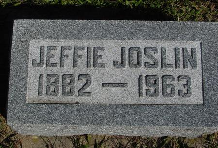 JOSLIN, JEFFIE - Monona County, Iowa | JEFFIE JOSLIN