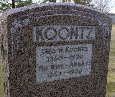 KOONTZ, GEORGE W. - Monona County, Iowa | GEORGE W. KOONTZ