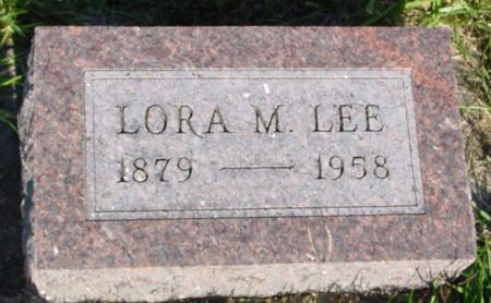 LEE, LORA M. - Monona County, Iowa | LORA M. LEE