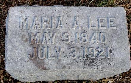 LEE, MARIA A. - Monona County, Iowa | MARIA A. LEE