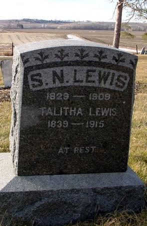 LEWIS, S. N. - Monona County, Iowa | S. N. LEWIS