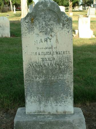 WALKER, MARY - Monona County, Iowa | MARY WALKER