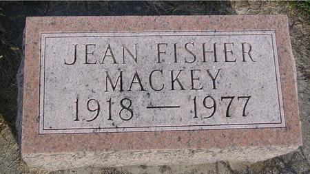 FISHER MACKEY, JEAN - Monona County, Iowa | JEAN FISHER MACKEY