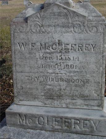 MC CLEEREY, W. F. - Monona County, Iowa | W. F. MC CLEEREY