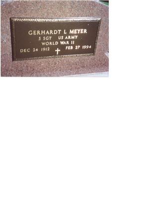 MEYER, GERHARDT L. - Monona County, Iowa | GERHARDT L. MEYER