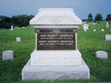 MOORHEAD, MARY HOWORTH - Monona County, Iowa | MARY HOWORTH MOORHEAD