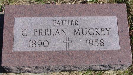 MUCKEY, G. FRELAN - Monona County, Iowa | G. FRELAN MUCKEY