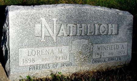 NATHLICH, WINFIELD & LORENA - Monona County, Iowa | WINFIELD & LORENA NATHLICH