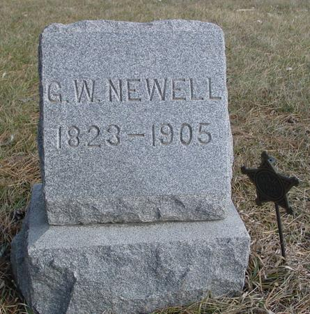 NEWELL, G. W. - Monona County, Iowa | G. W. NEWELL