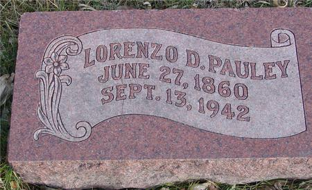 PAULEY, LORENZO D. - Monona County, Iowa | LORENZO D. PAULEY