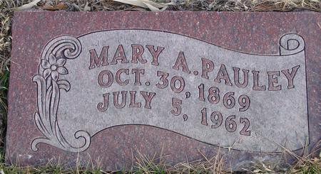 PAULEY, MARY A. - Monona County, Iowa | MARY A. PAULEY