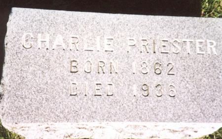 PRIESTER, CHARLIE - Monona County, Iowa | CHARLIE PRIESTER