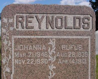 REYNOLDS, RUFUS & JOHANNA - Monona County, Iowa | RUFUS & JOHANNA REYNOLDS