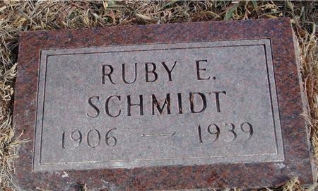 SCHMIDT, RUBY E. - Monona County, Iowa | RUBY E. SCHMIDT