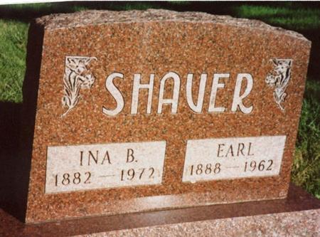 SHAVER, EARL & INA - Monona County, Iowa | EARL & INA SHAVER