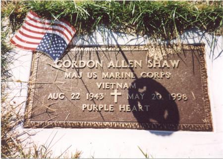 SHAW, GORDON ALLEN - Monona County, Iowa | GORDON ALLEN SHAW