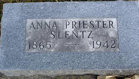 PRIESTER SLENTZ, ANNA - Monona County, Iowa | ANNA PRIESTER SLENTZ