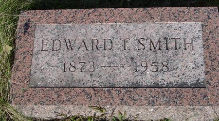 SMITH, EDWARD T. - Monona County, Iowa | EDWARD T. SMITH