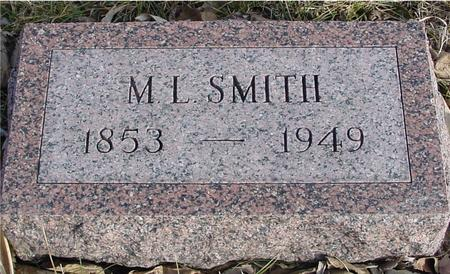 SMITH, M. L. - Monona County, Iowa | M. L. SMITH