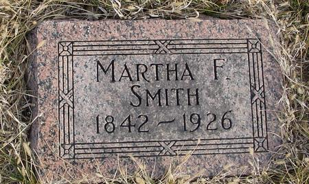 SMITH, MARTHA F. - Monona County, Iowa | MARTHA F. SMITH