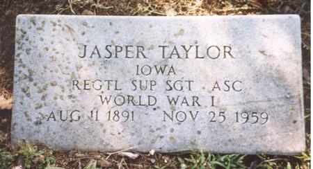 TAYLOR, JASPER - Monona County, Iowa | JASPER TAYLOR