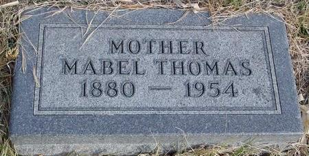 THOMAS, MABEL - Monona County, Iowa | MABEL THOMAS