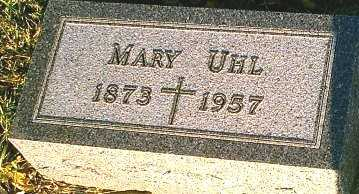 UHL, MARY - Monona County, Iowa | MARY UHL