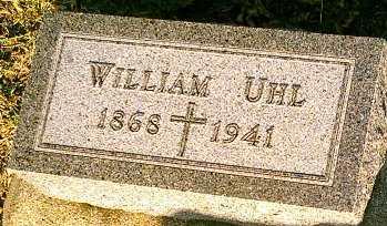 UHL, WILLIAM - Monona County, Iowa | WILLIAM UHL