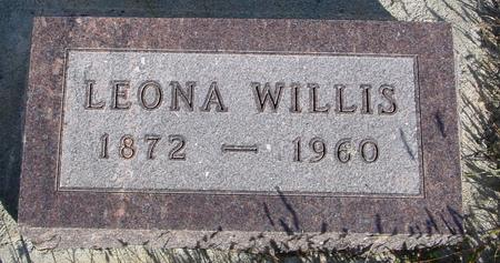 WILLIS, LEONA - Monona County, Iowa | LEONA WILLIS