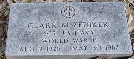 ZEDIKER, CLARK M. - Monona County, Iowa | CLARK M. ZEDIKER