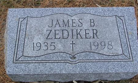 ZEDIKER, JAMES B. - Monona County, Iowa | JAMES B. ZEDIKER