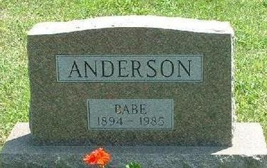 ANDERSON, CHRISTINA