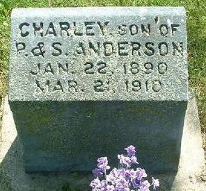 ANDERSON, CHARLEY - Monroe County, Iowa | CHARLEY ANDERSON