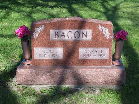 SPINKS BACON, VERA L. - Monroe County, Iowa | VERA L. SPINKS BACON