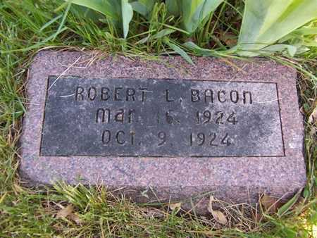 BACON, ROBERT L. - Monroe County, Iowa | ROBERT L. BACON