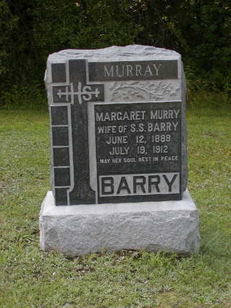 MURRAY BARRY, MARGARET M. - Monroe County, Iowa | MARGARET M. MURRAY BARRY