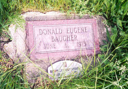 BAUGHER, DONALD EUGENE - Monroe County, Iowa | DONALD EUGENE BAUGHER