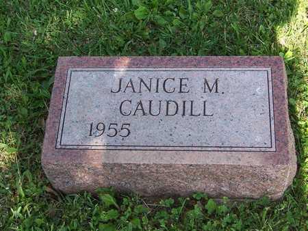 CAUDILL, JANICE M. - Monroe County, Iowa | JANICE M. CAUDILL